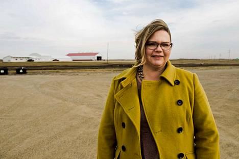 Heidi Marttila-Losure on demokraattipuolueen kannattaja. Yhdysvalloissa syntynyt nainen puhuu hyvää suomea ja on käynyt Suomessa 14 kertaa.