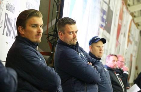 KeuPa HT:n valmentajakaksikko Tomas Westerlund ja Niko Härkönen ovat kokeneet joukkueensa kanssa ailahtelevan alkukauden Mestiksessä.