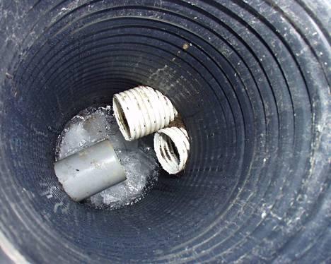 Myös rakennusten perustusten kuivatus- eli salaojavedet ovat hulevettä.