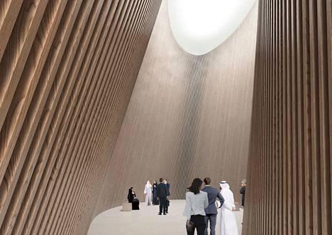 LUMI-paviljongin tarkoitus on tarjota rauhallinen hengähdyspaikka yhteyksien luomiseen maailmannäyttelyssä. Maailmannäyttely järjestetään Dubaissa 20. lokakuuta 2020–10. huhtikuuta 2021.