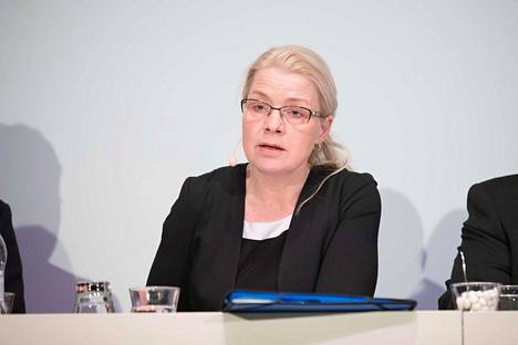 Eduskuntaryhmän puheenjohtaja Leena Meri sanoi, että perussuomalaisten talouspolitiikassa etusijalla on kansallinen etu.