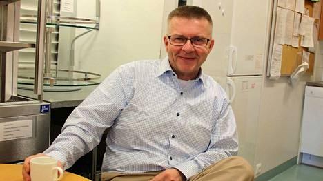 Nokian kirkkoherra Lauri Salminen.