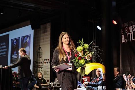 Jujuprix-kilpailun yleisöäänestyksen voitti ylivoimaisesti Johanna Siltanen.