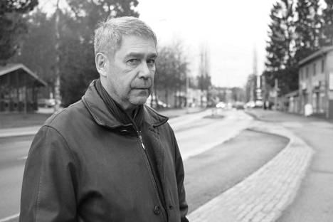Keuruu ei ole Juha Rainion mielestä enää pieni maalaispitäjä. - Paikkakunta on muuttunut vuosien saatossa kaupunkimaisemmaksi.