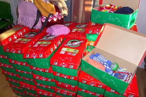 Joulun lapsi -keräyksen lahjat menevät Patmos Lähetyssäätiön kautta tänä vuonna Moldovaan ja Viroon.