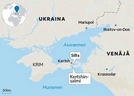 Kertshinsalmi on ainut reitti Asovanmeren satamakaupungeista Mustallemerelle. Venäjä on aloittanut viime kuukausina tarkastamaan salmea pitkin kulkevaa rahtiliikennettä. Se koituu Ukrainan mukaan kalliiksi liikenteelle.