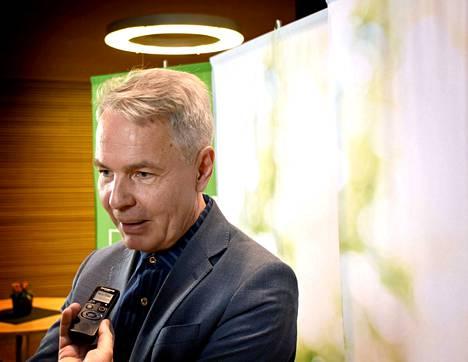 Vihreiden Pekka Haavisto on ollut paljon julkisuudessa puheenjohtajaksi valintansa jälkeen.