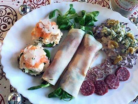 Maistelumenu sopii hyvin adventtiajan ruokapöytään, mikä ettei uudenvuoden juhliinkin.