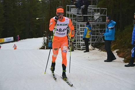 Markus Vuorela olisi toivonut matkaan viisi kilometriä lisää.