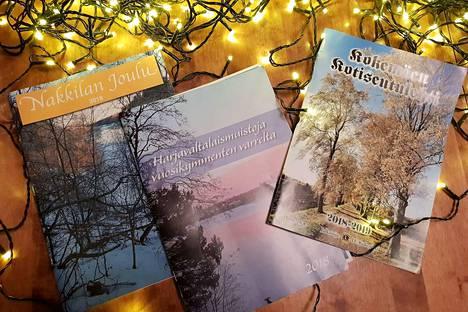 Nakkilan ja Kokemäen kotiseutulehtiä julkaisevat Leijonat, Harjavallassa julkaisijana on Harjulan kilta. Toteutustavoissa julkaisuissa on eroja, mutta kaikki palvelevat arvokasta kotiseututyötä.