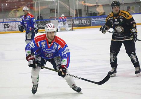 KeuPa HT on saanut Justus Mikkosesta taiturimaisen pelintekijän. Mikkonen syötti IPK:ta vastaan ratkaisevat 1-3 -ja 1-4 osumat.