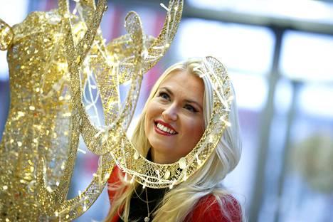 Porissa asuva Rita Aaltolahti suuntasi joulun viettoon kotikonnuilleen Vehmaalle.