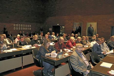Kankaanpään valtuusto hyväksyi ensi vuoden budjetin yksimielisesti.