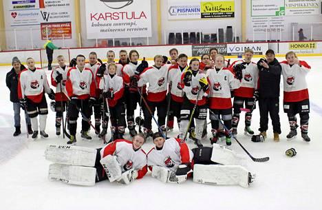 KPK:n B-juniorit voittivat karsintalohkonsa ja pelaavat tammikuussa alkavassa Suomi-sarjassa.