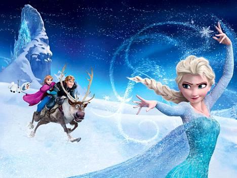 Suomenkielisen Frozen-animaatioseikkailun ääninä on muun muassa Saara Aalto, Katja Sirkiä ja Axl Smith. Elsa, Anna, Kristoff, Sven-poro ja lumiukko Olaf taistelevat ikitalvea vastaan.
