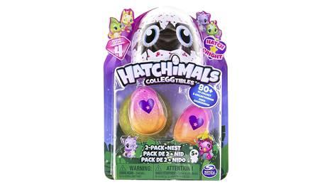 Hatchimalsit ovat pieniä, munista kuoriutuvia eläinhahmoja. Niille on myös saatavissa monenlaisia tarvikkeita.