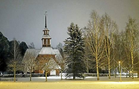 Keuruun vanha kirkko: Iäks muistiin jääneet - niin ei kaunista, kuin on urkuin äänet jouluaamuna.