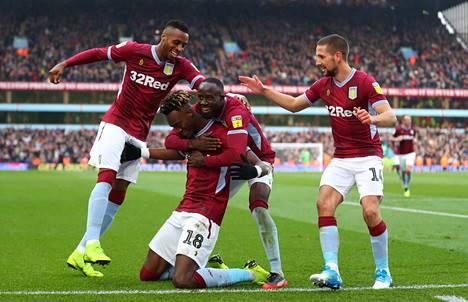Aston Villan peleissä on heilunut verkko viime aikoina.