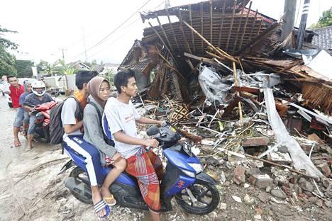 Indonesiassa tarvitaan apua vielä pitkään, sillä edellisestä tsunamista on aikaa vain vajaa kolme kuukautta.