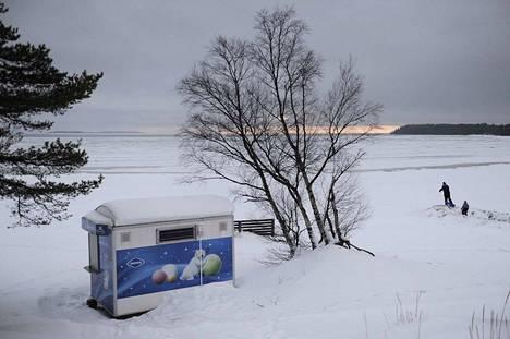 Kuva Yyteristä 27.12. 2012.