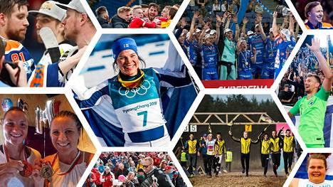 Pirkanmaalla ja pirkanmaalaisille urheilijoille riitti paljon tunteikkaita hetkiä vuonna 2018.