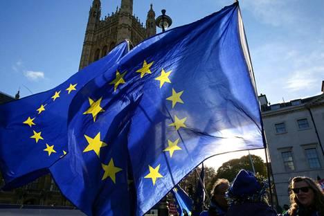 Iso-Britannia eroaa EU:sta virallisesti 29. maaliskuuta 2019.