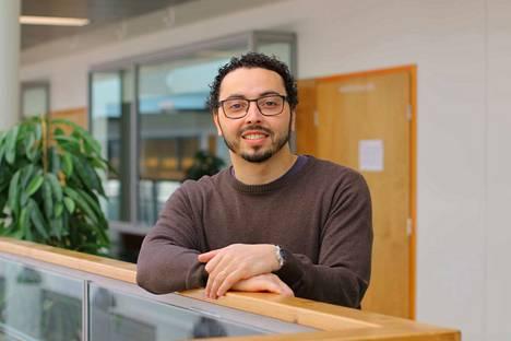 Tampereelle Brasiliasta 2011 muuttanut Samuel Oliveira on viihtynyt Suomessa mainiosti.