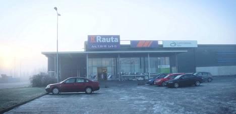 Pohjoisväylän K-Rauta sulkee ovensa alkuvuonna. Liikkeessä on meneillään varaston loppuunmyynti.