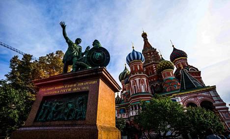 """Pidätetty jäi FSB:n mukaan kiinni """"suorittaessaan vakoilutekoa"""" Moskovassa."""