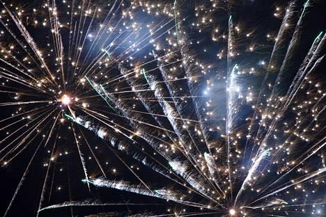 Uudenvuoden ilotulitus järjestetään kahdeksannen kerran Ratinassa.