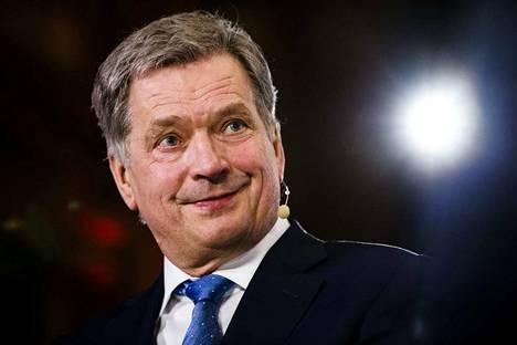 Presidentti Sauli Niinistö puolusti uudenvuodenpuheessaan eurooppalaisia arvoja.