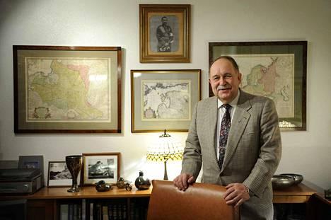 Mikko Nordquist oli ampumaurheilussa mukana noin 60 vuotta.