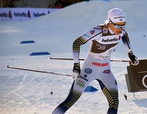Ruotsin Stina Nilsson keskeyttää Tour de Skin keskiviikon etapin 4/7 jälkeen.