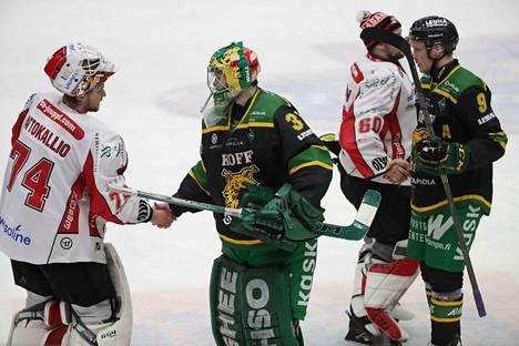Vaasan Sport poistui Hakametsän jäähallista voittajana.