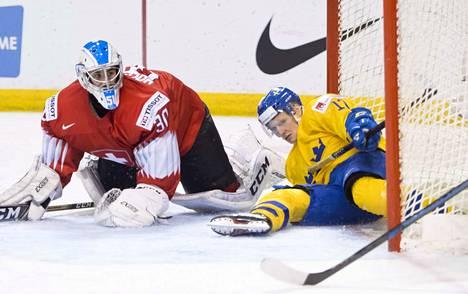 Luca Hollenstein nollasi Ruotsin puolivälierissä.