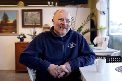 Pekka Rosendahl työllisti itsensä, kun työt teollisuusalalta loppuivat.