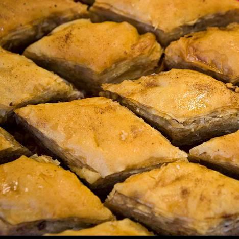 Baklava on Turkissa sunnuntaihin kuuluva asia.