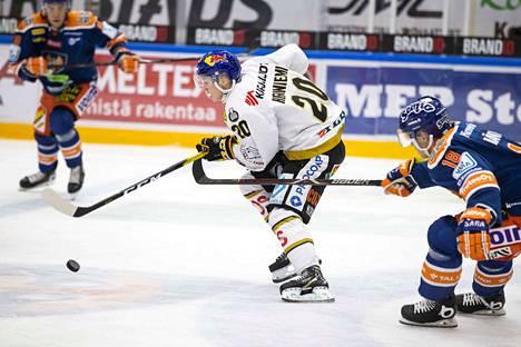 Kärpiltä puuttuu Nuorten Leijonien MM-joukkueessa pelaava Aleksi Heponiemi.