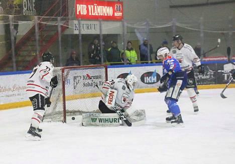 Jaakko Jokisen laukoma 1-2- kavennus jäi KeuPa HT:n ainoaksi maaliksi perjantai-illassa.