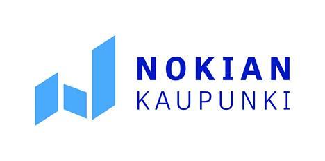 Nokian kaupungin uusi tunnus.
