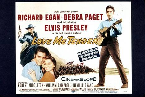 Vuonna 1956 ilmestynyt elokuva Lome Me Tender oli ensimmäinen, jota Elvis tähditti. Tätä menestyselokuvaa seurasi yli 30 musiikkipainotteista Elvis-elokuvaa.