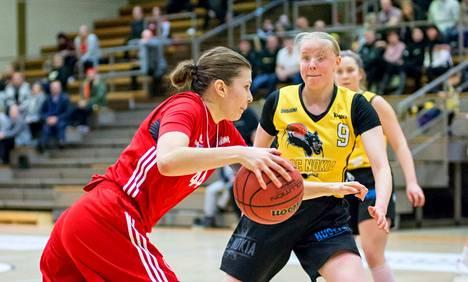 Evianna Sipilä (44) upotti Pyrinnön riveistä eniten eli 18 pistettä, BC Nokian Karoliina Kerilahti (9) vahvat 16 pinnaa, kun nokialaiset voittivat kauden toisen keskinäisen kohtaamisen luvuin 68–66.