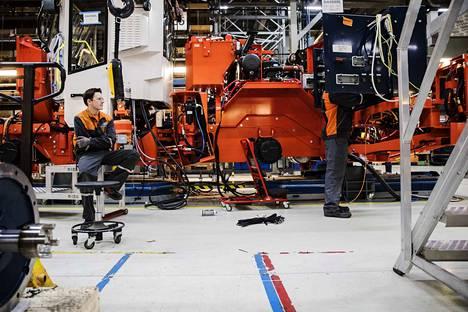 Sandvik Mining and Construction Finland sai vuonna 2017 yritystukea 844 000 euroa.