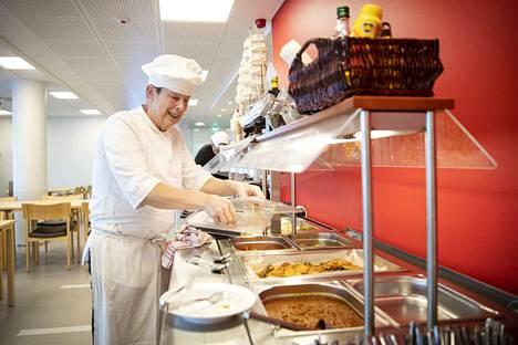 Tarmo Huhtanen perusti uuden lounaskahvilansa marraskuussa.