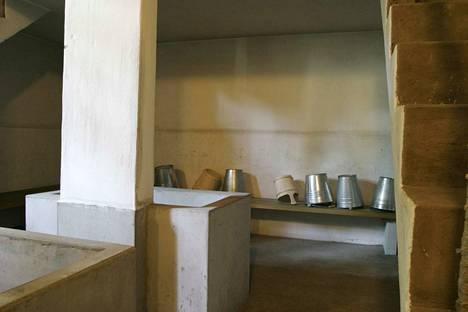 Amurin työläismuseokorttelin sauna pysynee museosaunana eikä sitä enää lämmitetä.