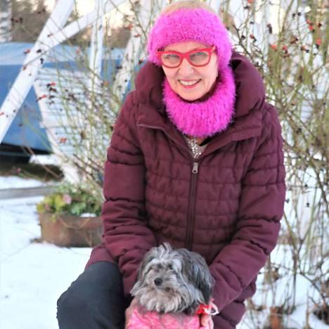 Hilkka Viikilä ja Roosa ovat erottamaton kaksikko.