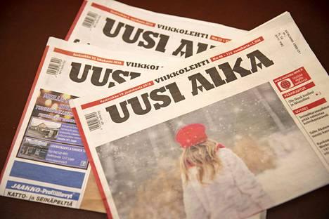 Uusi Aika ilmestyy vielä kaksien vaalien aikana. Sen jälkeen sen pitkä historia painettuna sanomalehtenä on lopussa.