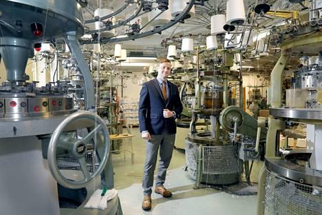 Tunnettuus kuntoon. Tuomo Saarni näkee paljon mahdollisuuksia Tam-Silkin tunnettuuden lisäämisessä. Markkinointiin käytetään ennen muuta sähköisiä kanavia.