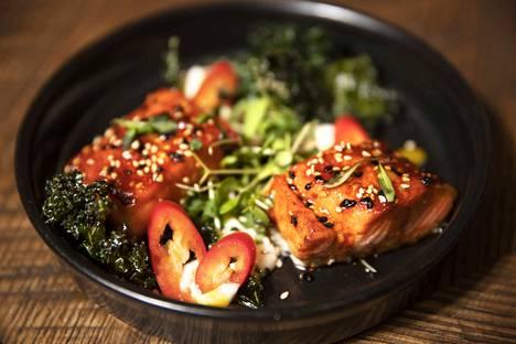 Lohi saa aivan uuden merkityksen, kun se on maustettu korealaiseen Gochujang-tapaan.