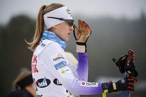 Eveliina Piippo voitti Suomen cupissa vitosen vapaalla hiihtotavalla.
